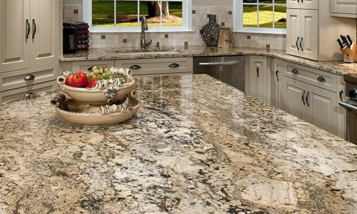 Marble and other natural stones for floor and kitchen