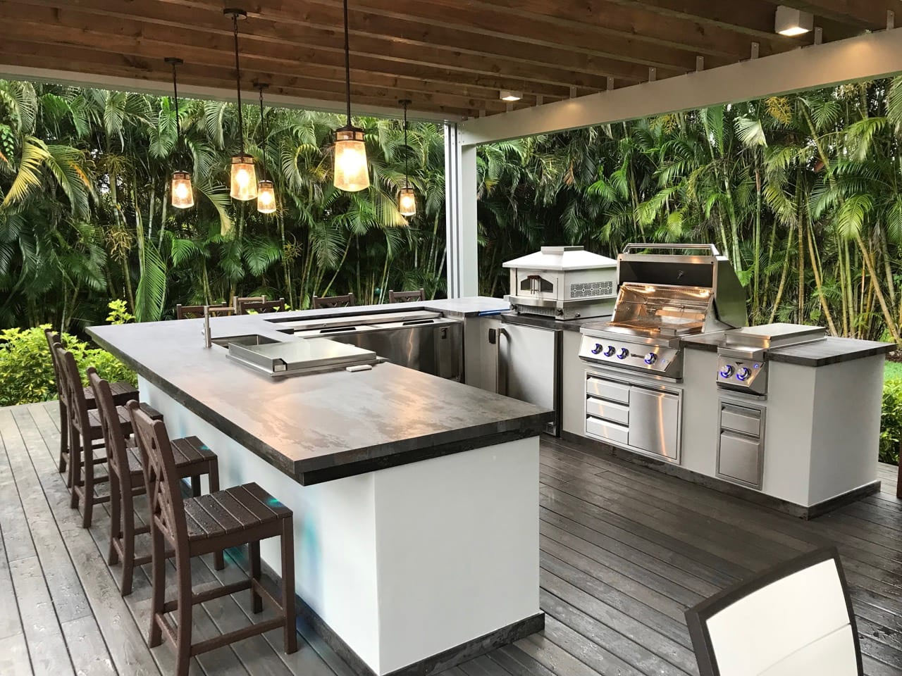 Countertop Options For Your Outdoor Kitchen Riostones